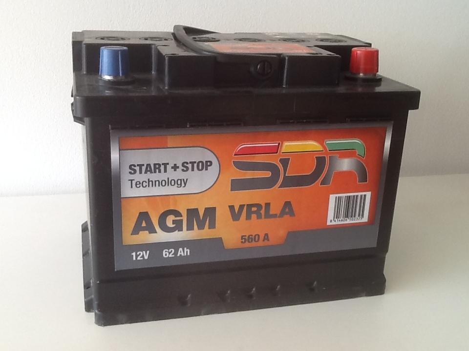 Batterie voiture SDR 66956200 d'origine