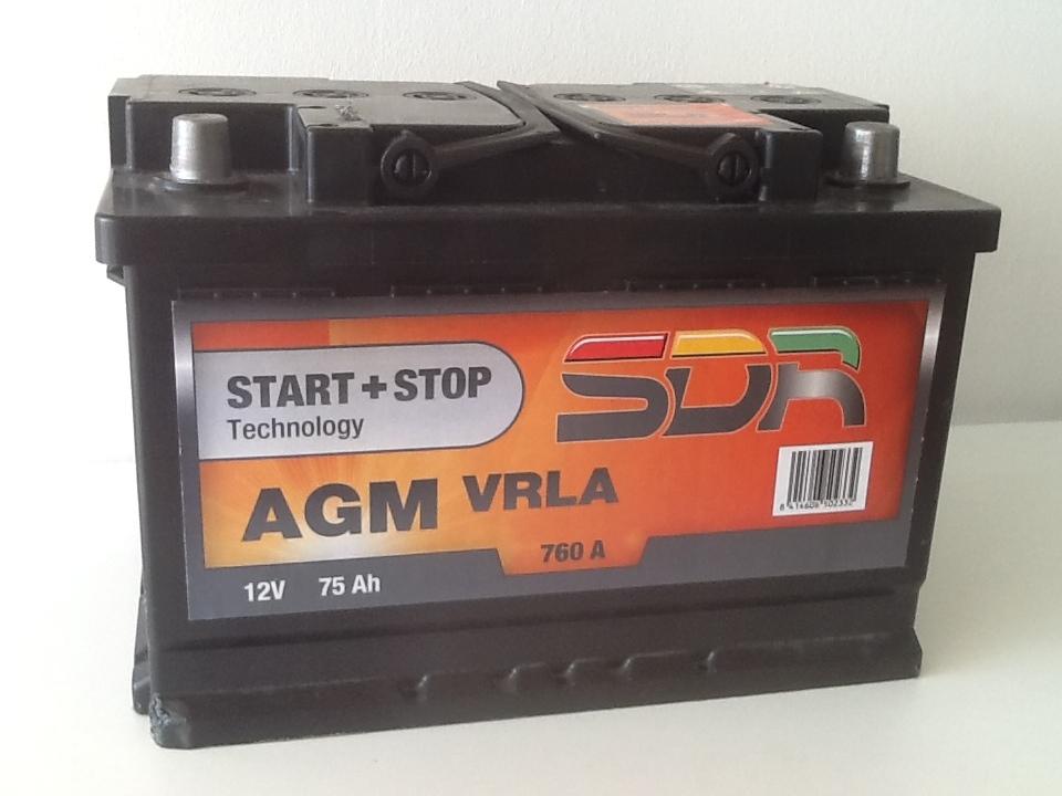 Batterie voiture SDR 66957500 d'origine