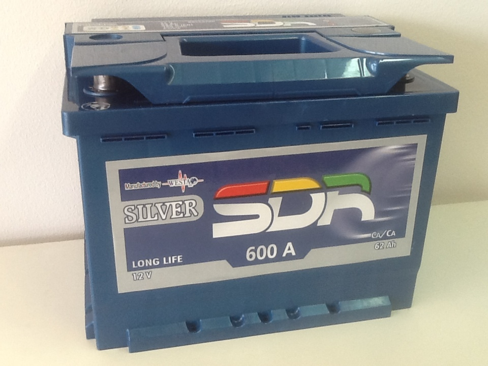Batterie voiture SDR 88956200 d'origine