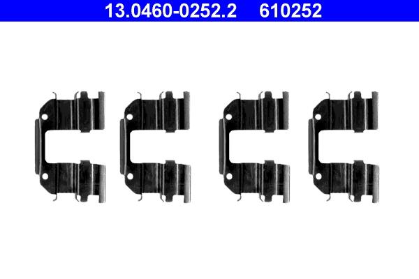 kit d 39 accessoires plaquette de frein disque pour chevrolet matiz wda. Black Bedroom Furniture Sets. Home Design Ideas