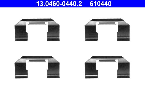 kit d 39 accessoires plaquette de frein disque pour nissan primera p10 hatchback 1 6 102cv wda. Black Bedroom Furniture Sets. Home Design Ideas