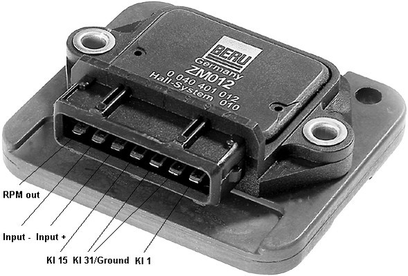 appareil de commande syst me d 39 allumage pour volkswagen polo ii 86c 1 0 cat 45cv wda. Black Bedroom Furniture Sets. Home Design Ideas