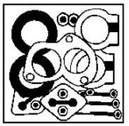 Kit d'assemblage, système d'échappement WALKER 17645 d'origine