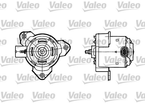 moteur  u00e9lectrique  ventilateur pour radiateurs pour renault clio ii 1 5 dci  b  cb07  65cv