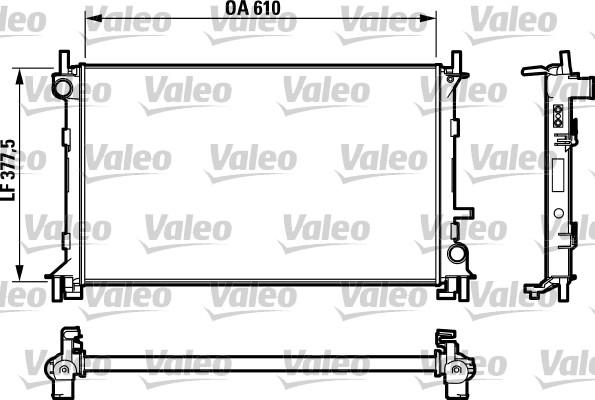 radiateur du moteur pour ford focus  daw  dbw  1 8 tdci