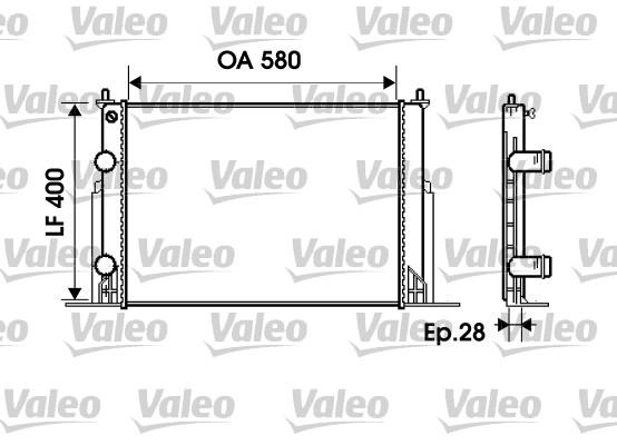 radiateur du moteur pour fiat stilo  192  1 9 jtd  192