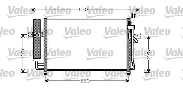 condenseur  climatisation pour hyundai getz  tb  1 3 82cv