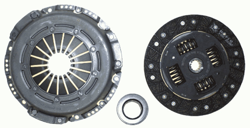 kit d 39 embrayage pour saab 900 ii cabriolet 2 0 16 turbo 185cv wda. Black Bedroom Furniture Sets. Home Design Ideas