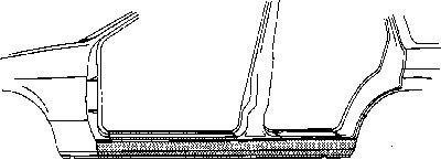 Marche-pied VAN WEZEL 1725103 d'origine