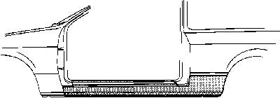 Marche-pied VAN WEZEL 1734101 d'origine