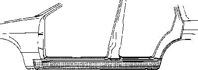 Marche-pied VAN WEZEL 1820103 d'origine