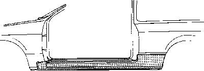 Marche-pied VAN WEZEL 1844101 d'origine