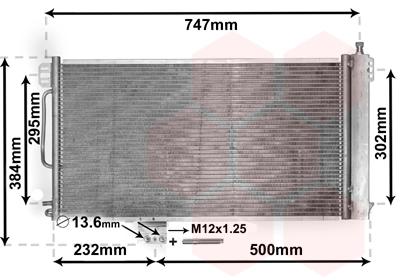 WAECO Condensateur Climatisation 8880400202 pour MERCEDES C-class w203 T-Model s203