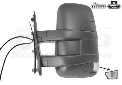 r troviseur ext rieur pour iveco daily v camion 35c21 35s21 40c21 45c21 50c21 60c21 70c21. Black Bedroom Furniture Sets. Home Design Ideas