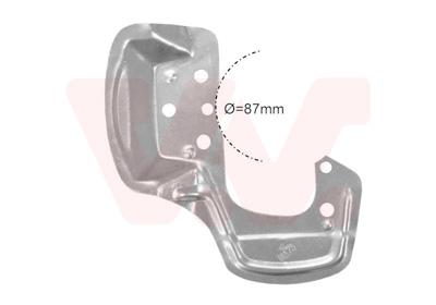 Déflecteur, disque de frein VAN WEZEL 3776372 d'origine