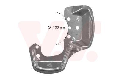 Déflecteur, disque de frein VAN WEZEL 3778371 d'origine