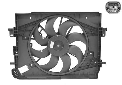 ventilateur refroidissement du moteur pour renault captur 0 9 tce 90 90cv wda. Black Bedroom Furniture Sets. Home Design Ideas