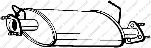 silencieux central bosal 211065 wda. Black Bedroom Furniture Sets. Home Design Ideas