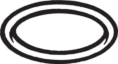 Joint d'étanchéité, tuyau d'échappement BOSAL 256421 d'origine
