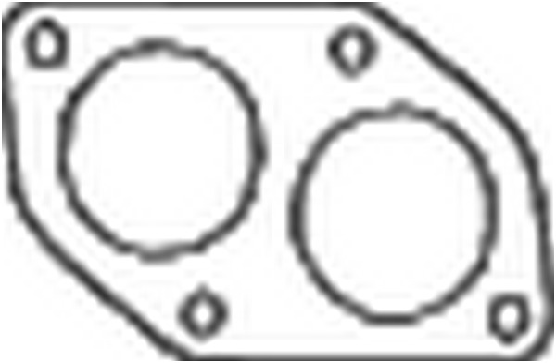 Joint d'étanchéité, tuyau d'échappement BOSAL 256919 d'origine