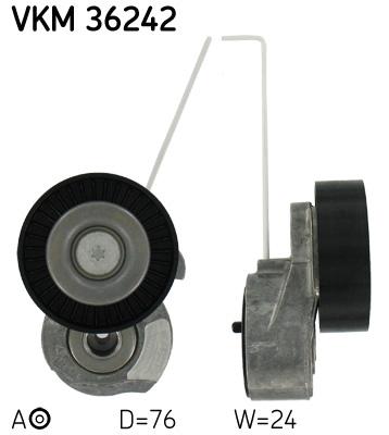 galet tendeur de courroie d 39 accessoires pour volvo xc60 wda. Black Bedroom Furniture Sets. Home Design Ideas