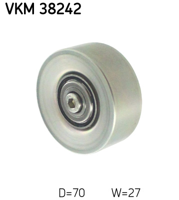 galet enrouleur de courroie d 39 accessoires pour bmw serie 3 e46 330 d 204cv wda. Black Bedroom Furniture Sets. Home Design Ideas