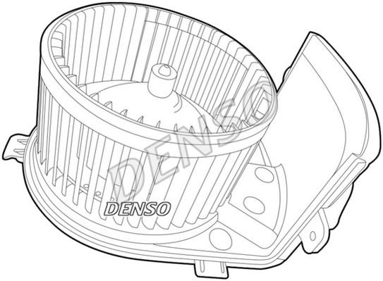pulseur d 39 air ventilateur int rieur pour renault clio iii 1 5 dci 106cv wda. Black Bedroom Furniture Sets. Home Design Ideas