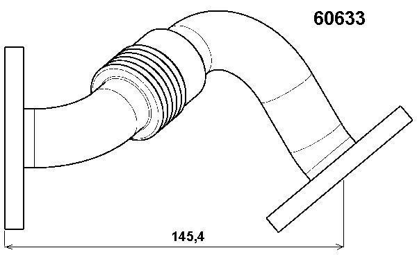 tuyauterie  valve  soupage rge pour volkswagen passat v