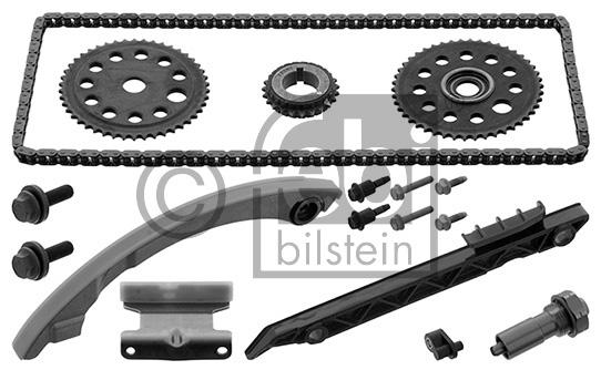 kit chaine distribution febi bilstein 44913 wda. Black Bedroom Furniture Sets. Home Design Ideas