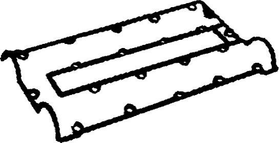 joint de cache culbuteurs pour opel astra f 3  5 portes  53   54   58   59   2 0 gsi 16v 150cv