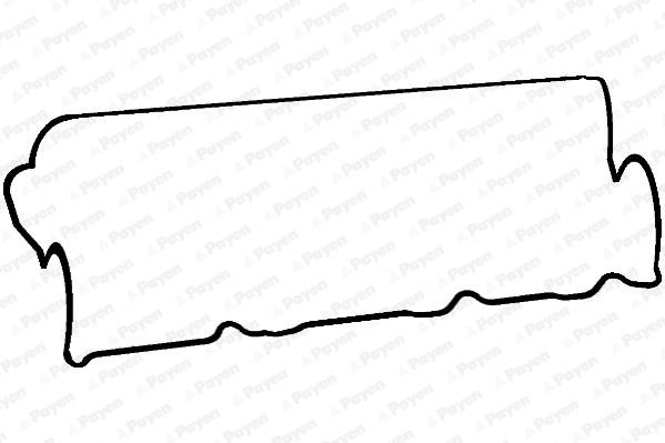 joint de cache culbuteurs pour mazda 626 v hatchback  gf