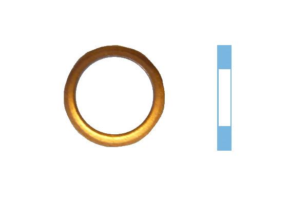 Joint de bouchon vidange CORTECO 005542S d'origine