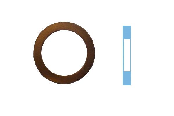 Joint de bouchon vidange CORTECO 005590S d'origine