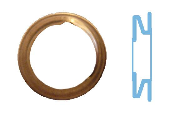 Joint de bouchon vidange CORTECO 005593S d'origine