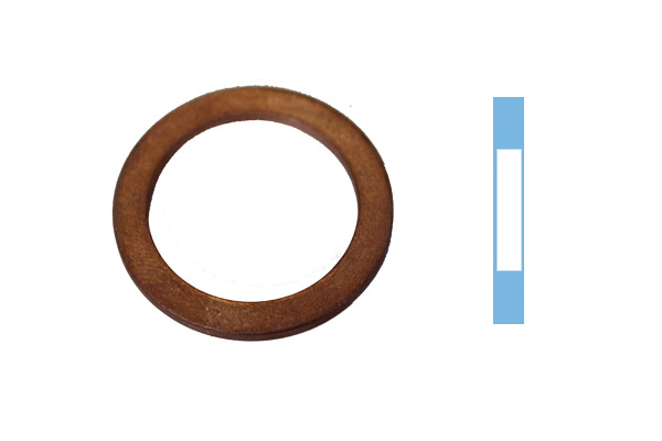 Joint de bouchon vidange CORTECO 005666H d'origine