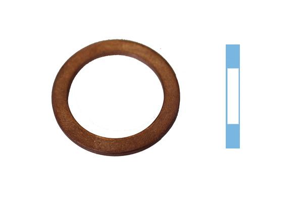 Joint de bouchon vidange CORTECO 005666S d'origine