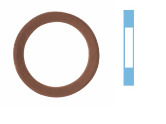 Joint de bouchon vidange CORTECO 005502S d'origine