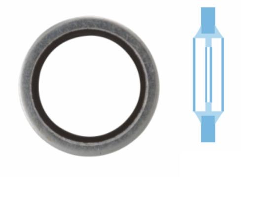 Joint de bouchon vidange CORTECO 005503S d'origine