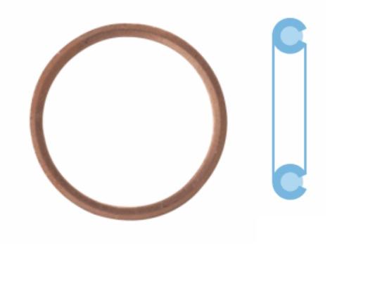 Joint de bouchon vidange CORTECO 005506S d'origine