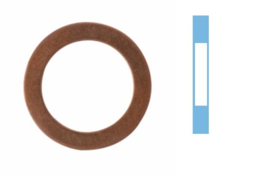 Joint de bouchon vidange CORTECO 005569S d'origine