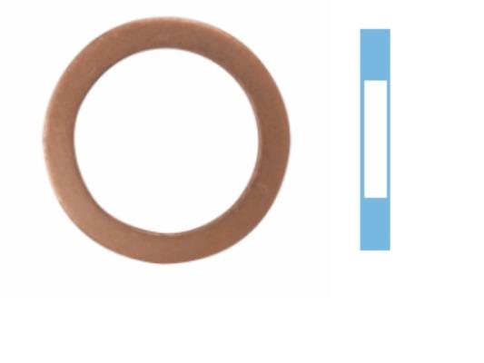 Joint de bouchon vidange CORTECO 005660S d'origine
