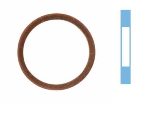 Joint de bouchon vidange CORTECO 005699S d'origine