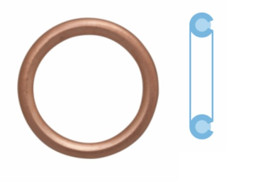 Joint de bouchon vidange CORTECO 402116S d'origine