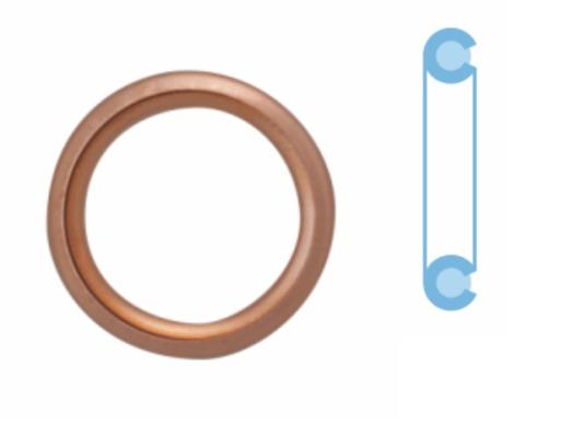 Joint de bouchon vidange CORTECO 407711S d'origine