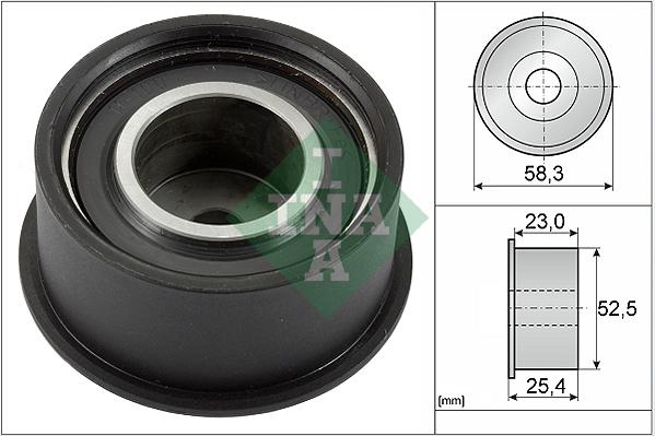 galet enrouleur de courroie de distribution pour opel corsa b 73 78 79 f35 1 4 i 16v. Black Bedroom Furniture Sets. Home Design Ideas