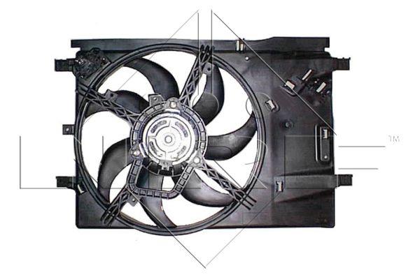ventilateur refroidissement du moteur pour opel corsa d 1 4 90cv wda. Black Bedroom Furniture Sets. Home Design Ideas