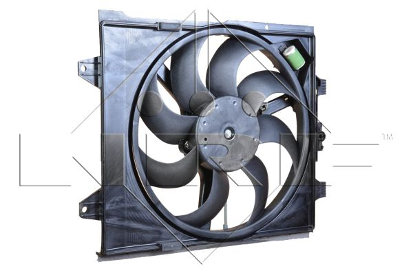 ventilateur refroidissement du moteur pour fiat 500 1 3 d multijet 95cv wda. Black Bedroom Furniture Sets. Home Design Ideas