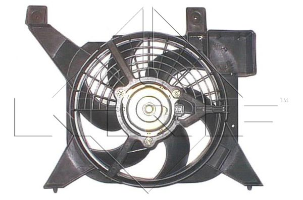 ventilateur refroidissement du moteur pour peugeot 106 ii 1 1 i 60cv wda. Black Bedroom Furniture Sets. Home Design Ideas