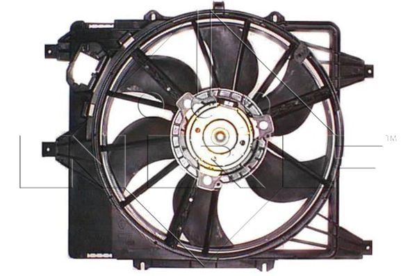 ventilateur refroidissement du moteur pour renault clio ii 1 9 d 65cv wda. Black Bedroom Furniture Sets. Home Design Ideas