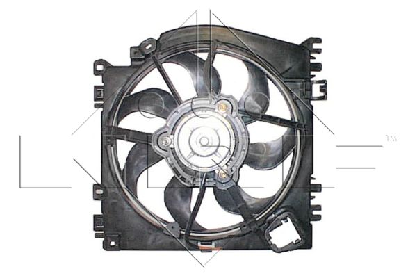 ventilateur refroidissement du moteur pour renault clio iii 1 5 dci 106cv wda. Black Bedroom Furniture Sets. Home Design Ideas